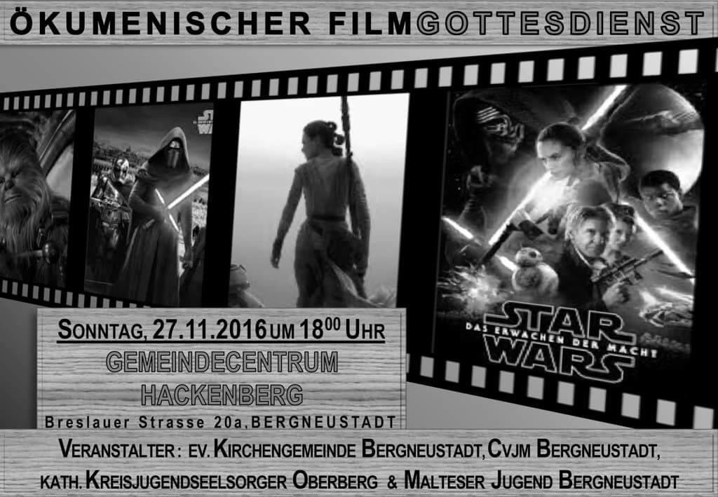 Ökumenischer Filmgottesdienst @ GC Hackenberg | Bergneustadt | Nordrhein-Westfalen | Deutschland