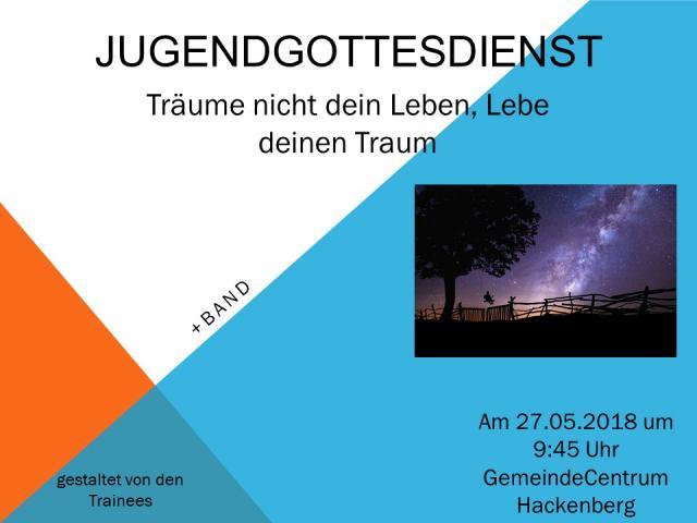 Jugendgottesdienst in der GC Hackenberg @ GC Hackenberg | Bergneustadt | Nordrhein-Westfalen | Deutschland