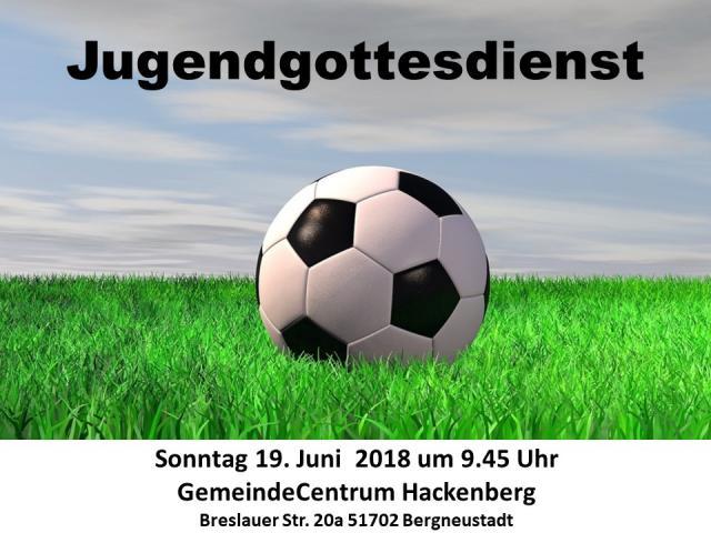 Jugendgottesdienst in der GC Hackenberg @ GC Hackenberg   Bergneustadt   Nordrhein-Westfalen   Deutschland