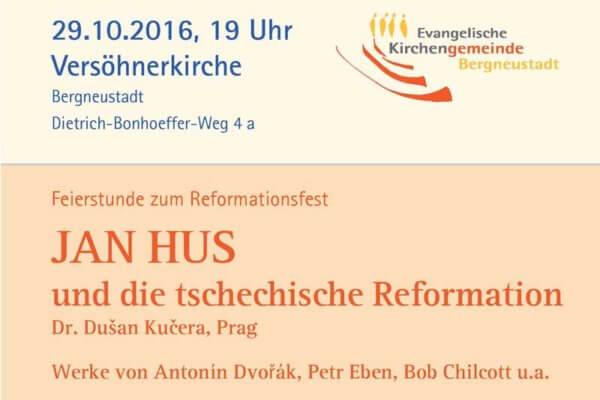 Feierstunde zum Reformationsfest