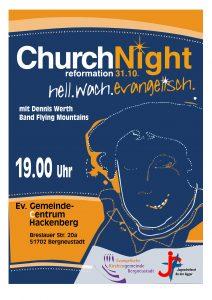 Church Night im GC Hackenberg @ GemeindeCentrum Hackenberg | Bergneustadt | Nordrhein-Westfalen | Deutschland