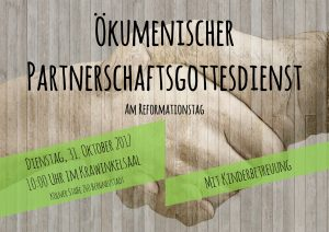 Ökumenischer Partnerschaftsgottesdienst @ Krawinkelsaal | Bergneustadt | Nordrhein-Westfalen | Deutschland