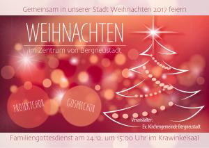 Familiengottesdienst im Krawinkelsaal @ Krawinkelsaal | Bergneustadt | Nordrhein-Westfalen | Deutschland