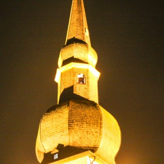 Traditionelles Turmblasen an der Altstadtkirche