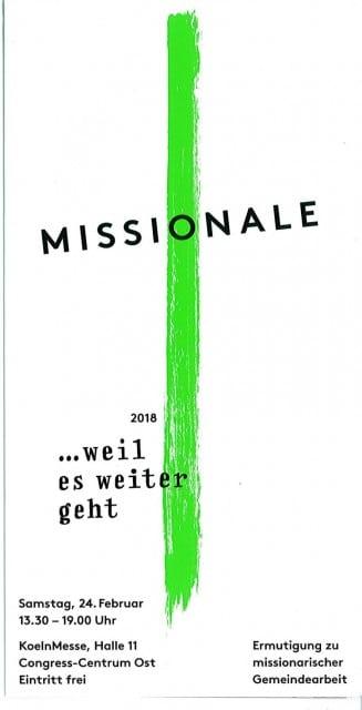 Missionale in Köln @ Köln Messe, Halle 11 | Köln | Nordrhein-Westfalen | Deutschland