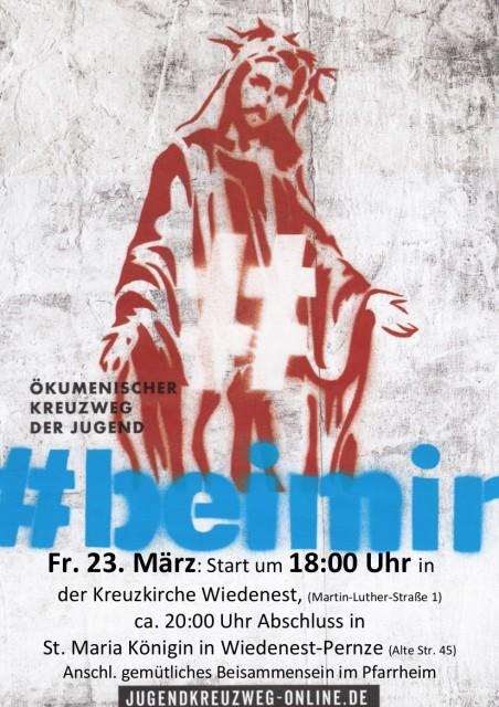 Ökumenischer Kreuzweg der Jugend @ Kreuzkirche Wiedenest | Bergneustadt | Nordrhein-Westfalen | Deutschland