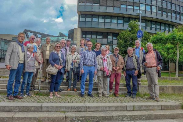 Ausflug des Männerkreises nach Düsseldorf