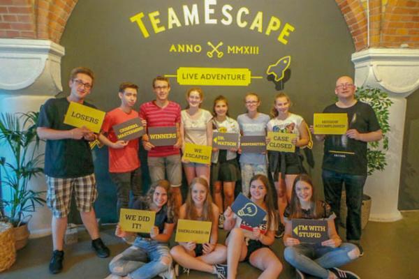 Ausflug der Jugendgruppe GUIC in den Escape Room Köln