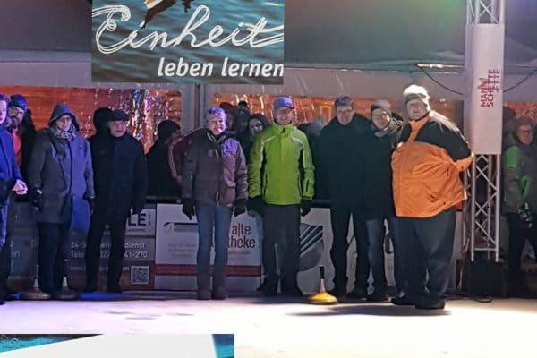 Die Eisbahn in Bergneustadt in der Allianzgebetswoche