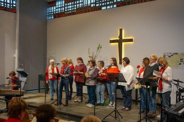 Impressionen vom Weltgebetstag der Frauen im GemeindeCentrum Hackenberg