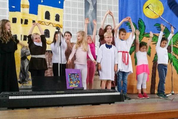 Musicalaufführung des Kinderchors