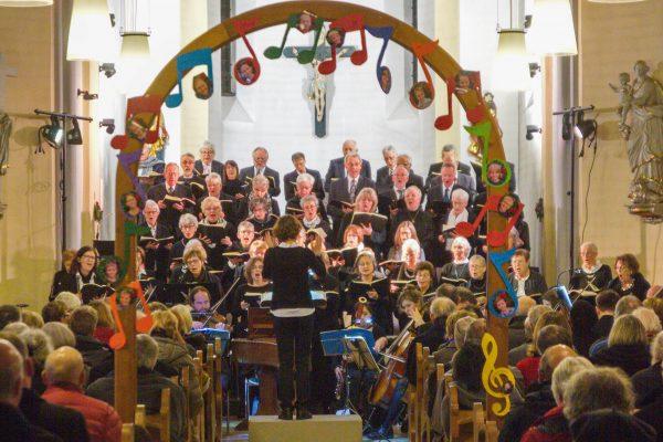 Weihnachtliches Konzert der Kantorei in St.Stephanus